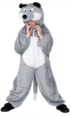 Childs Wolf Costume